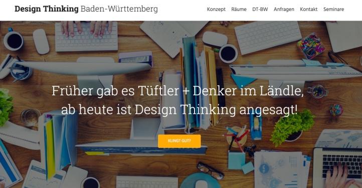 Design Thinking Baden Württemberg